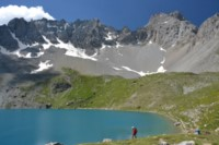 lake st anne walking holiday french alps
